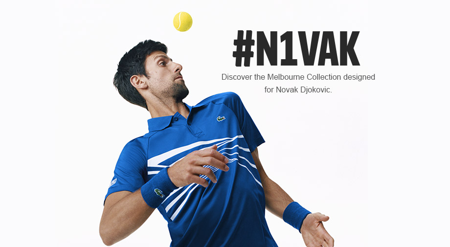 e4025666a THE NOVAK DJOKOVIC COLLECTION IS HERE