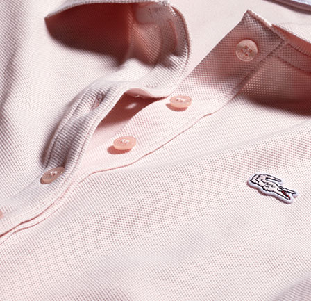 the slim fit polo