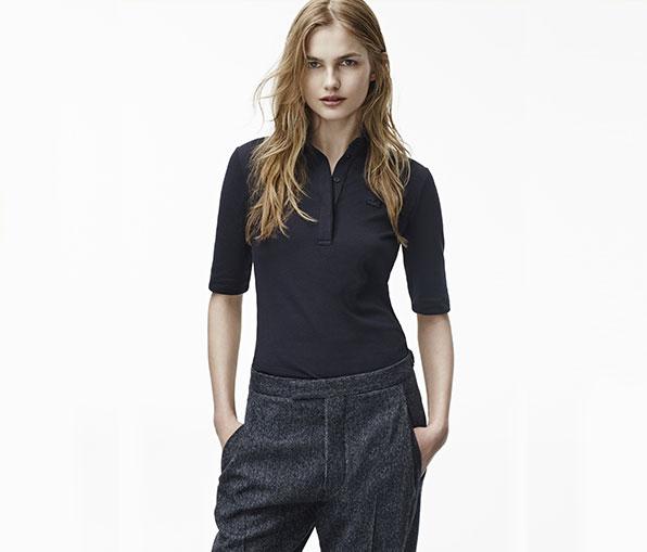 Women's Slim Fit Shirt Polo