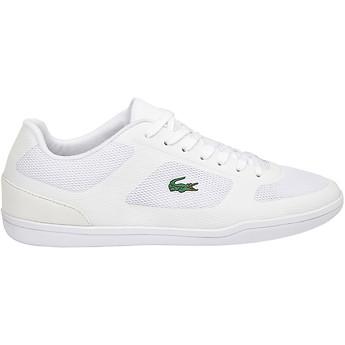 Australia Mens Lacoste Court-Minimal Sport - Trainers - White IS15562
