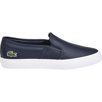 Lacoste WOMEN'S GAZON BL CANVAS SLIP-ONS
