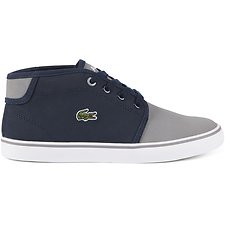 84f8230990e24 Image of Lacoste NAVY GREY KID S AMPTHILL 417 1
