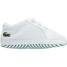 Image of Lacoste WHITE/GREEN BABY L.12.12 CRIB 318 1