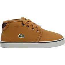 Image of Lacoste TAN/DARK BROWN KIDS' AMPTHILL 318 1