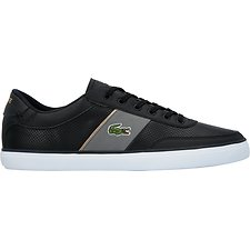 Image of Lacoste BLACK/DARK GREY MEN'S COURT-MASTER 318 1