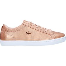Image of Lacoste LIGHT PINK/WHITE WOMEN'S STRAIGHTSET 318 2