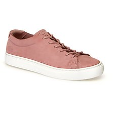 Image of Lacoste PINK/LIGHT TAN WOMEN'S L.12.12 UNLINED 318 1