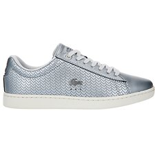 Image of Lacoste SLV/OFF WHT WOMEN'S CARNABY EVO 119 9