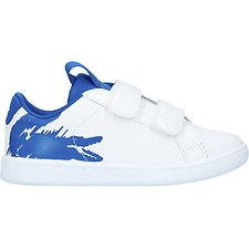 Image of Lacoste WHT/BLU INFANT'S CARNABY EVO 119 1