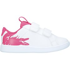 Image of Lacoste WHT/DK PNK INFANT'S CARNABY EVO 119 1