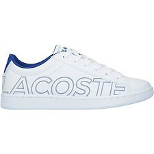 Image of Lacoste WHT/BLU JUNIOR'S CARNABY EVO 219 1