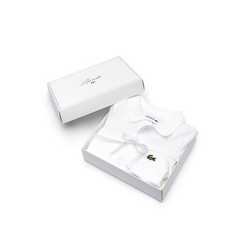 Image of Lacoste  KIDS' BABY JUMPSUIT GIFT BOX