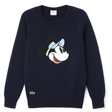 Image of Lacoste  WOMEN'S MINNIE MOUSE WOOL KNIT