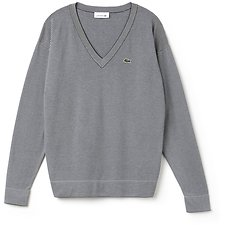 Picture of WOMEN'S V NECK STRIPE SWEATER