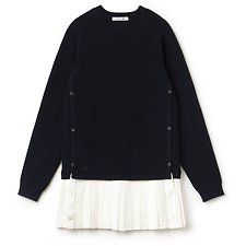 Picture of WOMENS FASHION SHOW PLEATED SWEATER