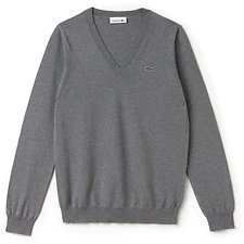 Picture of WOMEN'S V NECK COTTON SWEATER
