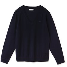 Picture of WOMEN'S V NECK WOOL SWEATER