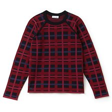 Picture of WOMEN'S PLAID WOOL SWEATER
