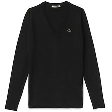 Picture of BASIC COTTON V NECK SWEATER