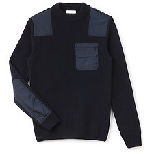 Picture of MEN'S NYFS RIB WOOL SWEATER