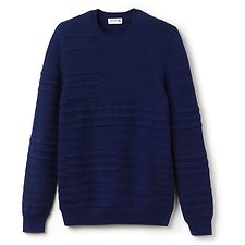 Picture of MEN'S DISCONNECTED STRIPE SWEATER