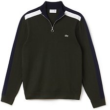 Picture of MEN'S 1/2 ZIP MOCK NECK SWEATER