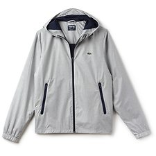 Image of Lacoste NIMBUS/NAVY BLUE-MEDWAY MEN'S METTALIC WINDBREAKER