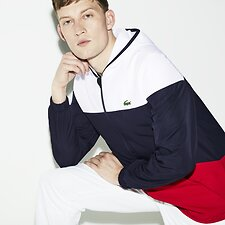 Image of Lacoste  MEN'S COLOUR BLOCK WINDBREAKER