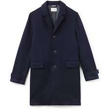 Picture of MEN'S BUTTONED WOOL COAT