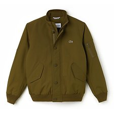 Image of Lacoste SOLDIER MEN'S TWILL BOMBER JACKET