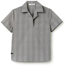 Picture of WOMENS FASHION SHOW SHORT SLEEVE WOVEN SHIRT