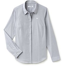 Picture of WOMEN'S SLIM STRETCH STRIPE POPLIN SHIRT