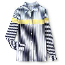 Picture of WOMEN'S STRIPED COLOURBLOCK  SHIRT