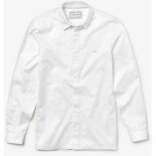 Image of Lacoste WHITE MEN'S SLIM FIT MINI PIQUE SHIRT