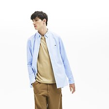 Image of Lacoste CREEK MEN'S SLIM STRETCH OXFORD SHIRT