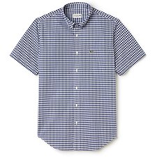 Picture of SHORT SLEEVE GINGHAM CHECK SHIRT