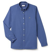 Image of Lacoste KING MEN'S SLIM FIT JACQUARD DOT SHIRT