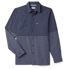 Picture of REG FIT DBLE PKT STRIPE SHIRT