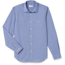 Picture of MEN'S SLIM FIT GLEN PLAID SHIRT
