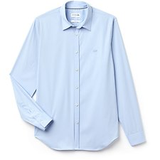 Image of Lacoste LAGOON MEN'S SLIM FIT STRETCH POPLIN SHIRT