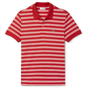 Image of Lacoste  MEN'S REGULAR FIT JERSEY STRIPE POLO