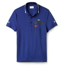 Picture of NOVAK DJOKOVIC CHEST PRINT SPORT POLO
