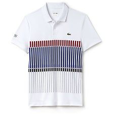 Image of Lacoste MULTI NOVAK DJOKOVIC NET PRINT SPORT POLO