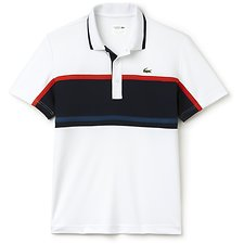 Picture of ULTRA DRY CHEST STRIPE POLO