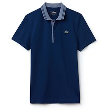 Image of Lacoste INKWELL/WHITE MEN'S LACOSTE SPORT GOLF POLO