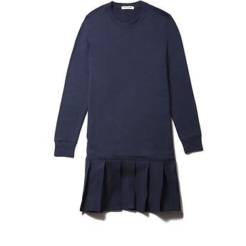 Image of Lacoste  PLEATED SWEATSHIRT DRESS