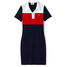 Picture of WOMEN'S 85TH ANNIVERSARY LIMITED EDITION COLOUR BLOCK POLO DRESS