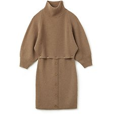 Picture of WOMEN'S NYFS TURTLE NECK DRESS