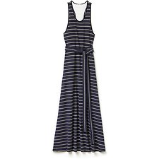 Picture of WOMENS LONG STRIPED JERSEY DRESS