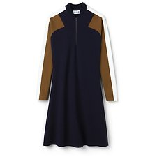 Picture of WOMEN'S RETRO MOCK NECK DRESS
